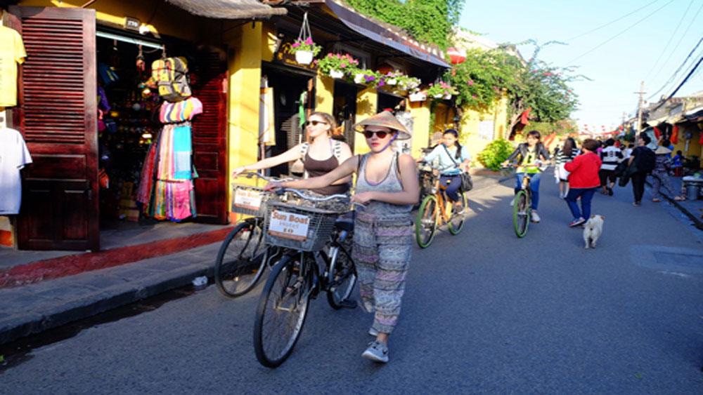 """Hội An: Dự án sử dụng xe đạp đạt giải """"Giao thông đô thị toàn cầu"""""""